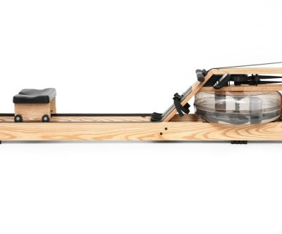 Waterrower natural wooden rowing machine-side